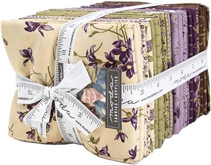 100/% Tela De Algodón Primavera florales Costura Artesanía Patchwork 5 Fat Quarters Bundle