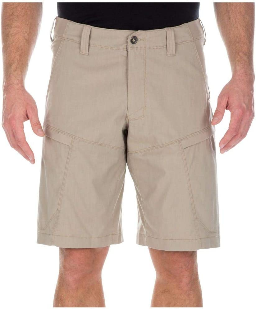 5.11 Tactical Men's Apex 11-Inch Shorts, Flex-Tac Stretch Canvas, Comfort Waistband, Style 73334