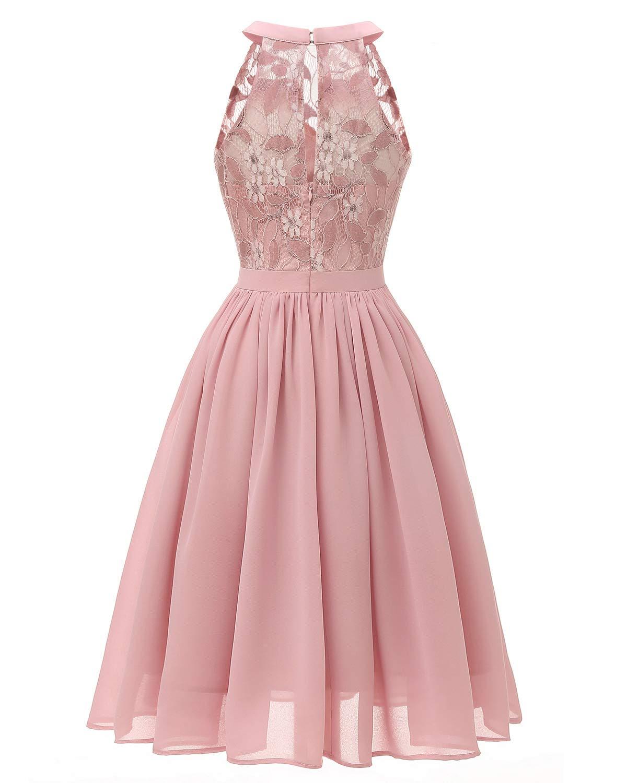 LLBubble Women's Short Lace Women Dress