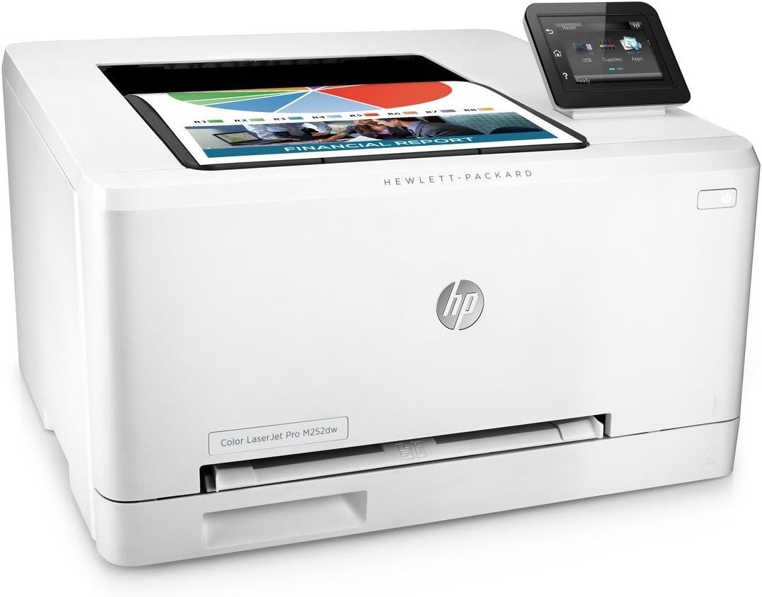 HP Laserjet Pro M252dw Wireless Color Printer, (B4A22A)