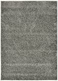 RugStylesOnline Shaggy Collection Solid Color Shag Area Rugs, Gray Review