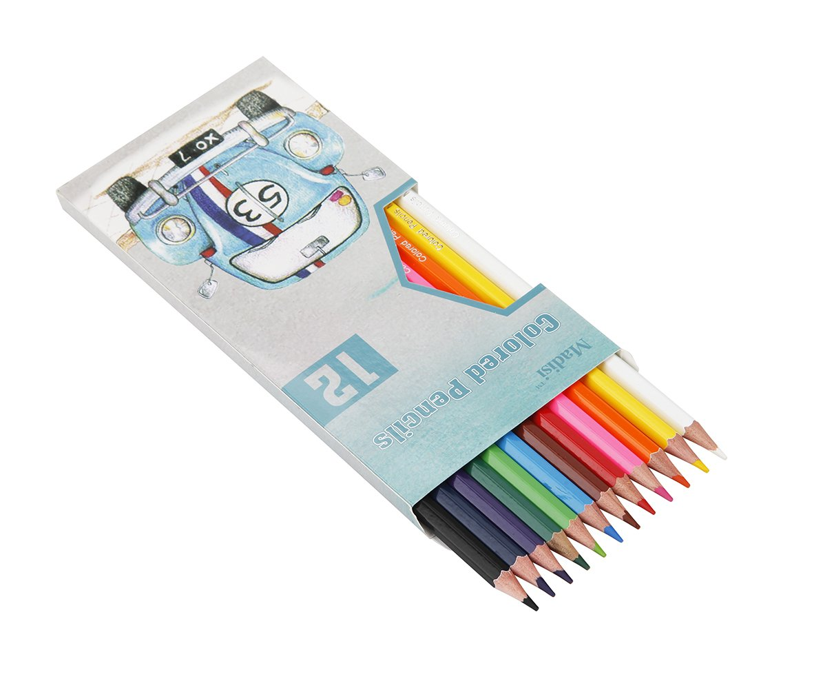Madisi Colored Pencils Bulk - Non-Toxic Pre-Sharpened - 72 Packs of 12-Count - Class Pack by Madisi (Image #2)
