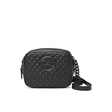 a1c05a9f30 Sac bandoulière capitonné noir G Lux - Guess - Noir: Amazon.fr: Vêtements  et accessoires