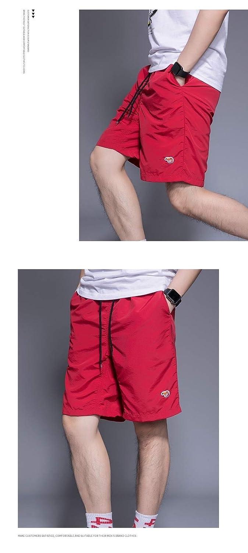 DressUMen Beachwear Summer Breathable Solid Leisure Shorts Pants