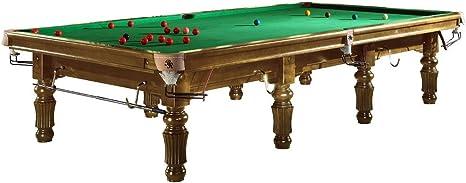 Mesa de billar snooker Modelo bardossa II con paño verde – Mesa estilo Snooker, Holzfarbe Honig: Amazon.es: Deportes y aire libre