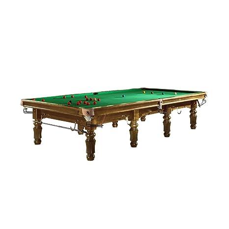 Mesa de billar snooker Modelo bardossa II con paño verde - Mesa ...