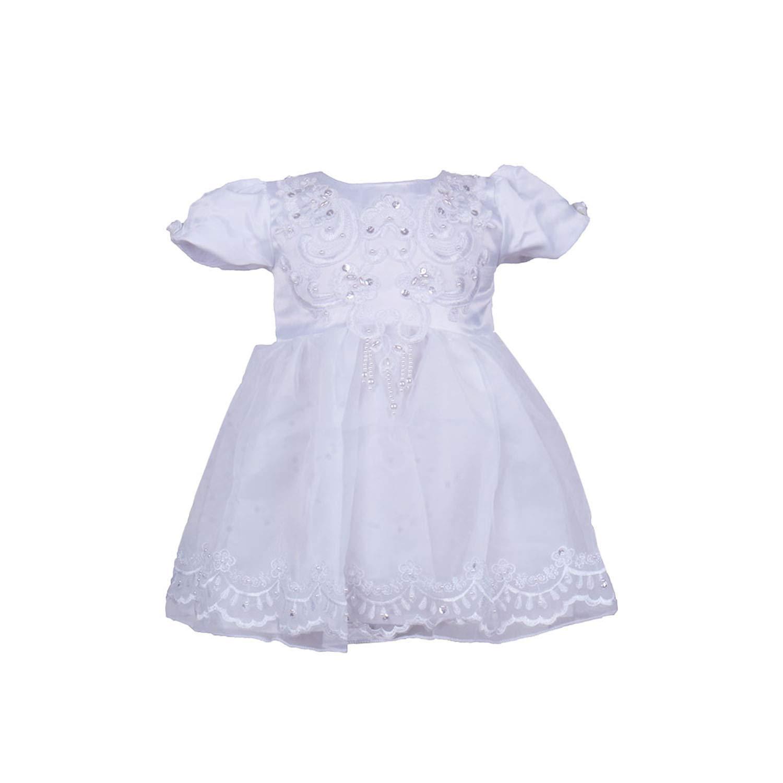 BabyPreg Ni/ñas beb/és Bautizo Vestido de bautismo Cumplea?os Vestido de Fiesta poli/éster algod/ón