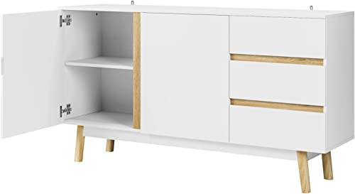 Homfa Sideboard Buffet Storage Cabinet