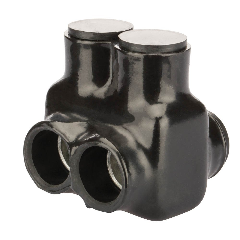 Polaris Insul-Tap Connector, for Two Wires and in-Line Splicer/Reducer, IT Series, 350-6 AWG Wire Range, 5/16'' Hex, 2.50'' Width, 2.44'' Height, 2.47'' Length by NSI
