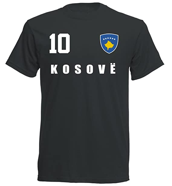 Aprom-Sports Camiseta de la selección Mundial de Kosovo 2018 ...
