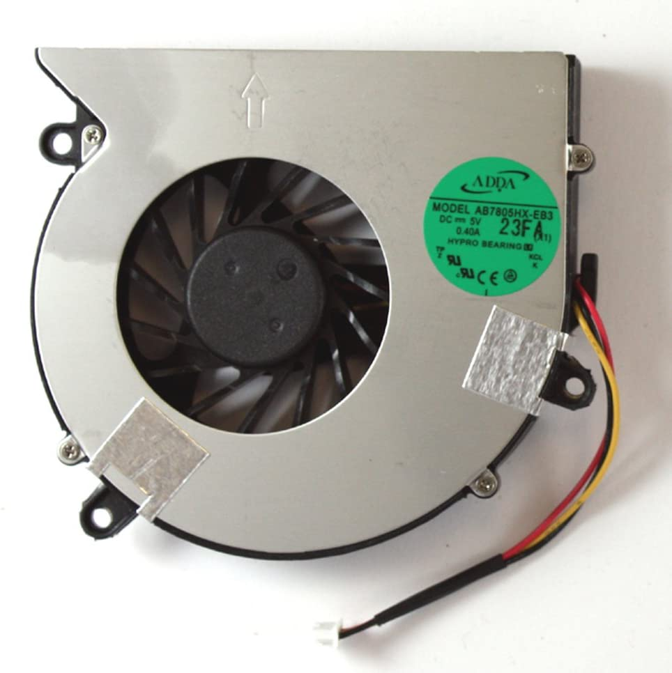 Power4Laptops Replacement Laptop Fan for Acer AB7805HX-EB3, Acer Aspire 5520, Acer Aspire 5520-503G16Mi, Acer Aspire 5520-6A2G12Mi, Acer Aspire 5720