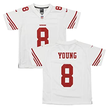 big sale 3d742 711f1 Nike NFL Youth San Francisco 49ers Steve Young #8 Game Jersey, Color Options