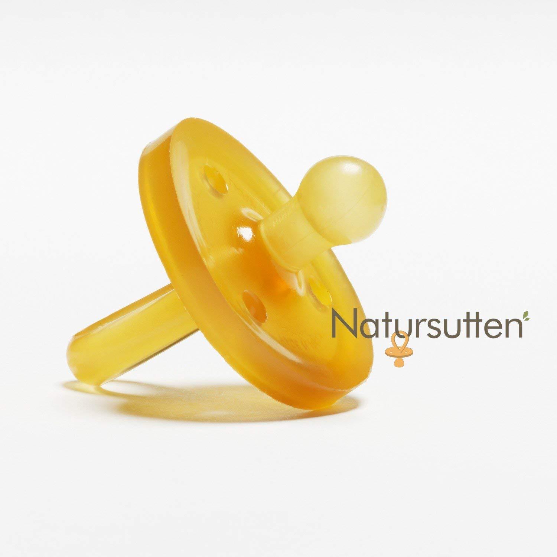 注目の Natursutten Rounded BPA-Free Months Natural Rubber Pacifier, Rounded Small, 0-6 Months Natursutten S(0~6ヶ月) ラウンド型 B001AVPLR0, DONNA:1653302f --- a0267596.xsph.ru