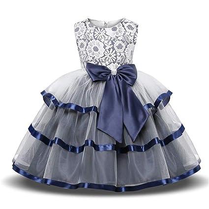 0b77c3c808e Amazon.com: Zxcvlina Kids Princess Dress Kids Girls Sleeveless ...