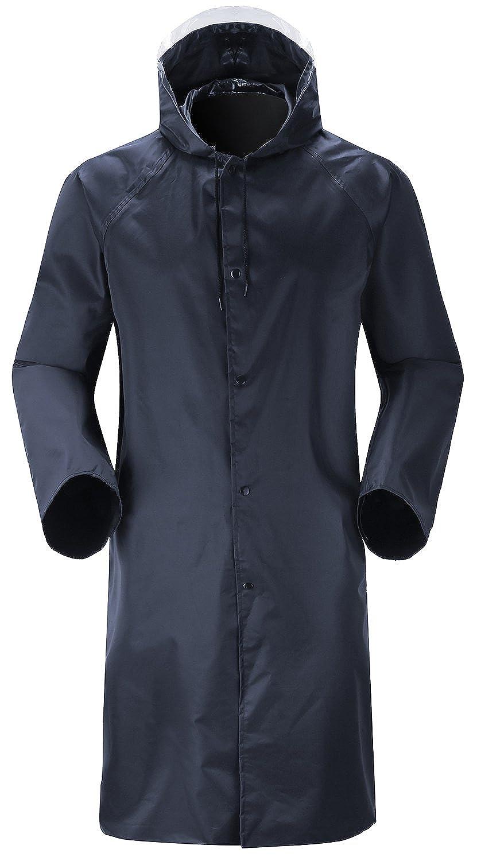 Cheering Unisex Rain Coat Mens Rainwear Waterproof Rain Jacket Long Sleeve Raincoat RainCoat022