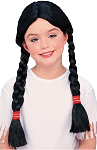 Rubies Native American Girl Wig with Braids