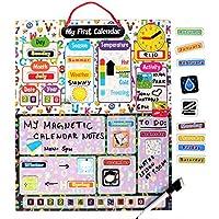 Kraftzlab Magnetic Kids Calendar and Chore Chart