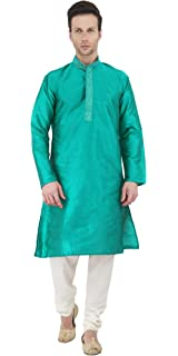 d33229b870 Kurta Pajama Long Sleeve Button Down Shirt Pyjama Set Indian Wedding Party  Dress for Men