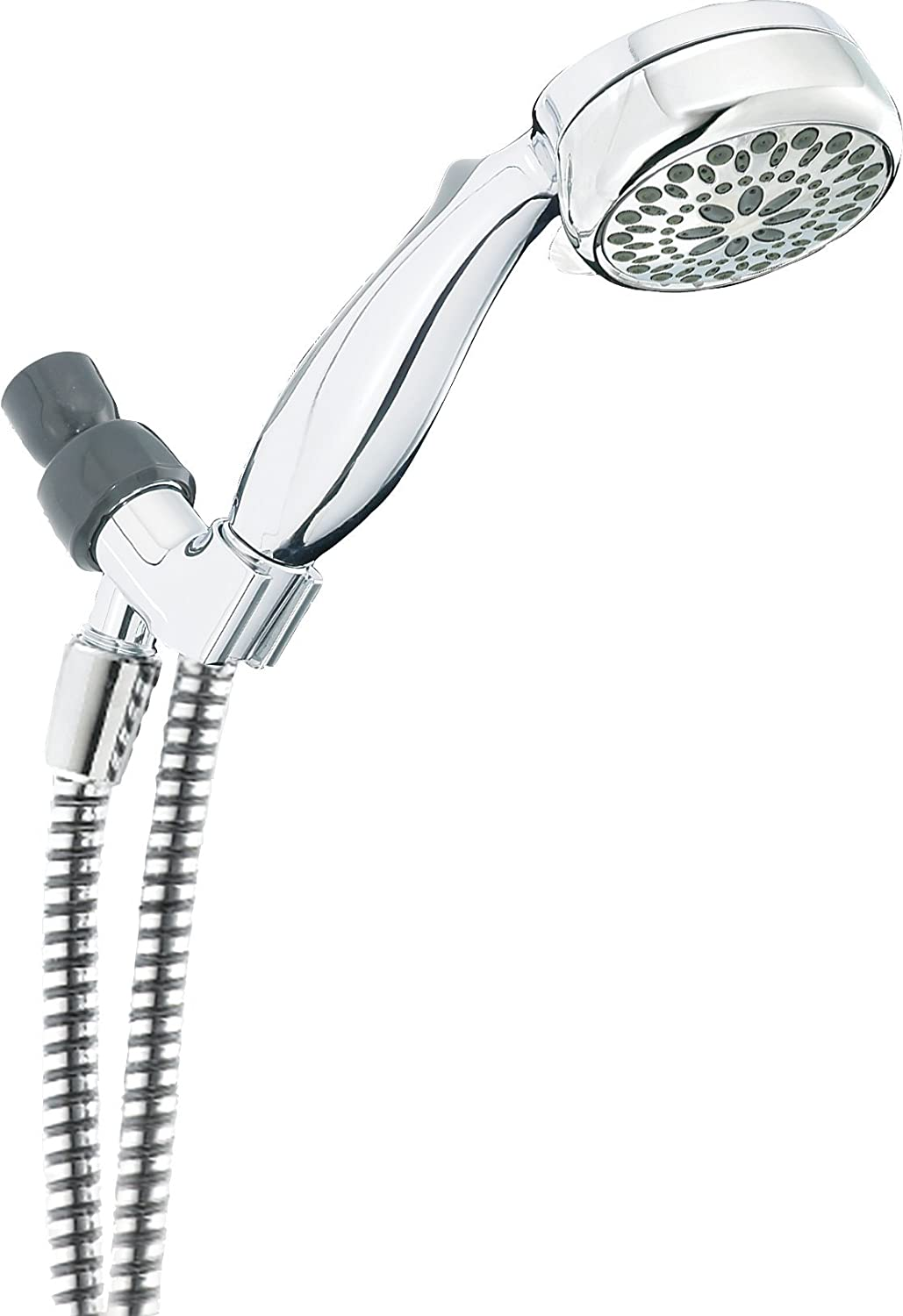 Attractive Delta 7 Spray Touch Clean Hand Held Shower Head With Hose, Chrome (75700)    Hand Held Showerheads   Amazon.com