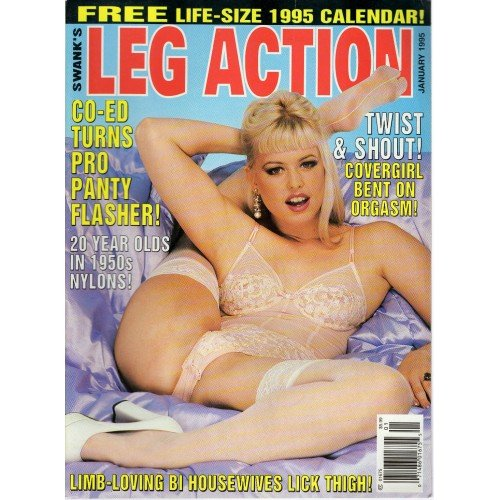 VINTAGE SWANK LEG ACTION JAN 1995 FRANCESCA LE STEVI SECRET TABITHA LAMOUR LEGS