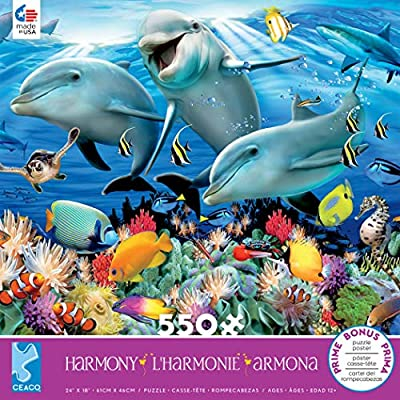 Harmony - Ocean Jigsaw Puzzle, 550 Pieces: Toys & Games