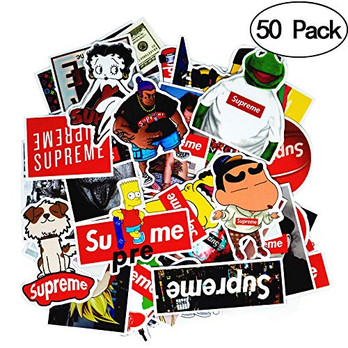 Stickers [50 PCS], Waterproof Vinyl Stickers for Laptop, Car, Bicycle, Helmet, Skateboard, Luggage Dream Level No-Duplicate Stickers per Set.