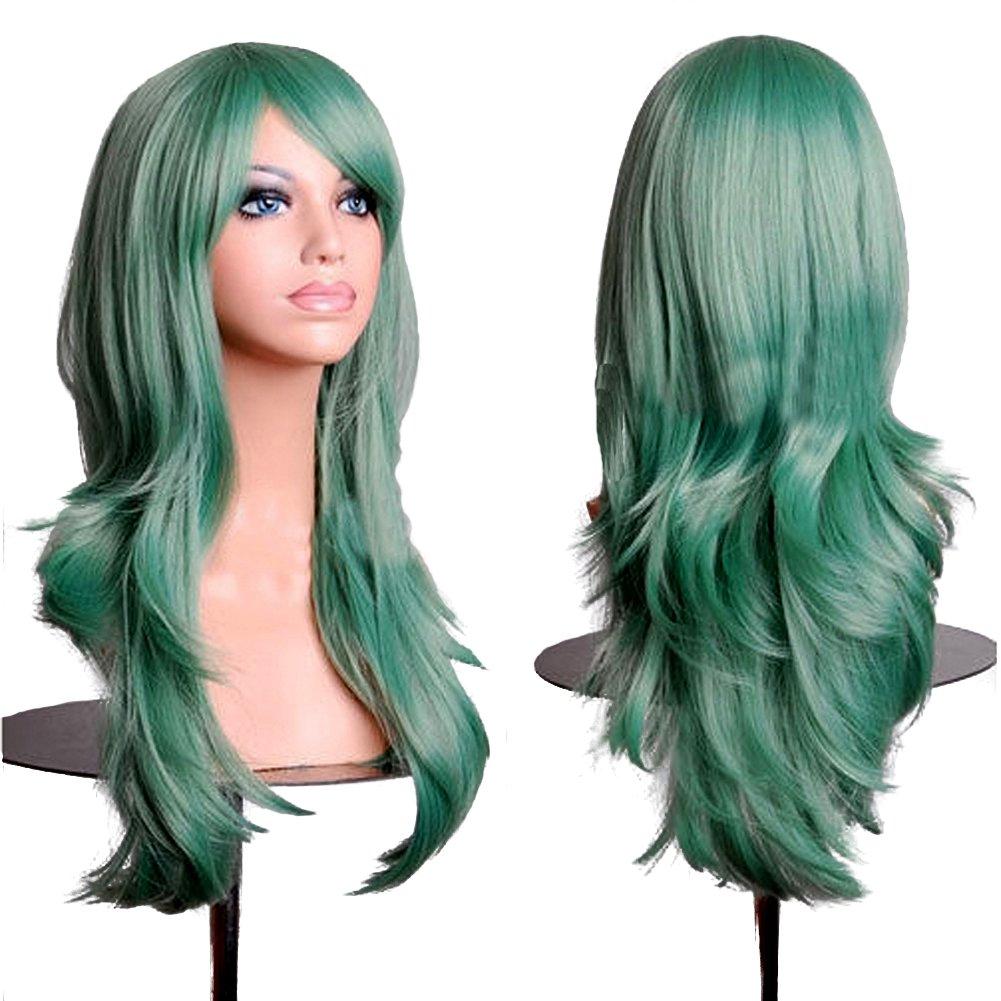 royalstyle 71,1cm 70cm longue Cheveux Cosplay Perruques universel Femme Longue Perruque Droite cheveux 1cm 70cm longue Cheveux Cosplay Perruques universel Femme Longue Perruque Droite cheveux