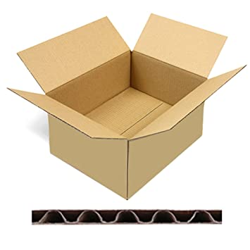 500 Faltkartons Versandkartons Dhl Kartons 330 X 240 X 160 Mm Kk 60
