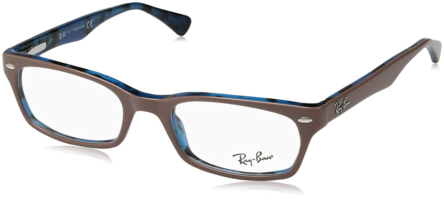 TALLA 48. Ray-Ban - RX 5150,Geométrico acetato mujer