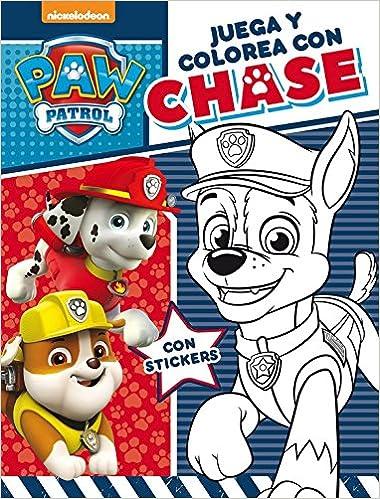 Juega Y Colorea Con Chase Paw Patrol Patrulla Canina