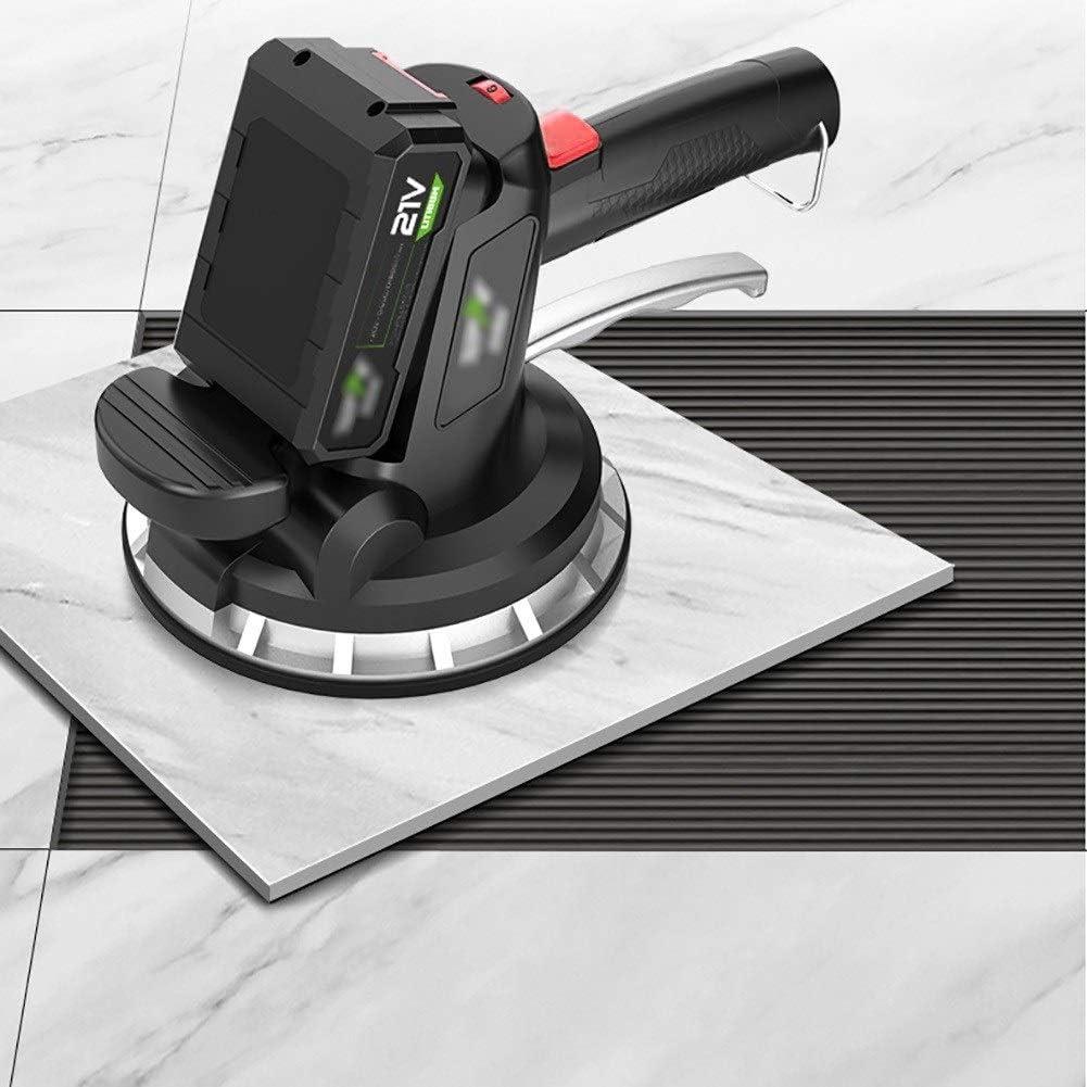 Macchina Livellatrice Automatica Piastrelle per Pavimento//Parete CRZJ Piastrellatrice Elettrica Adsorbimento Massimo di 320 kg Strumento Vibrante per Piastrellista per Piastrelle