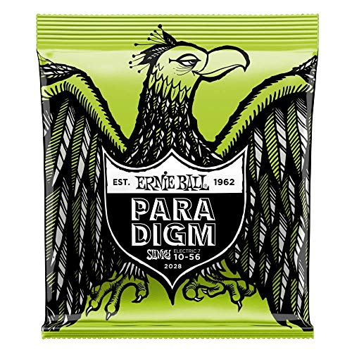 Ernie Ball Regular Slinky Paradigm 7-String Electric Guitar Strings - 10-56 ()