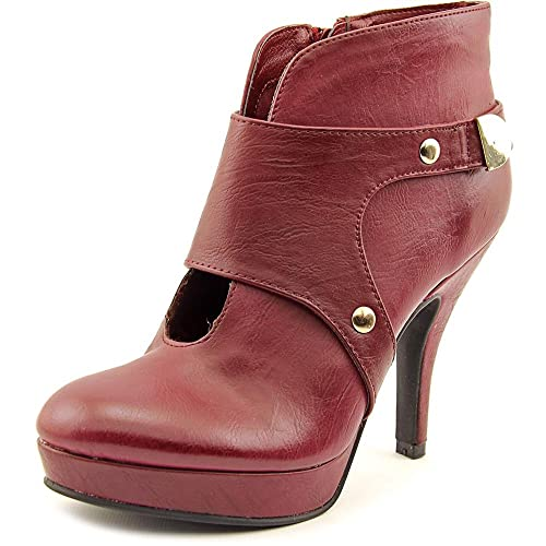 File Type Women Round Toe Synthetic Ankle Boot