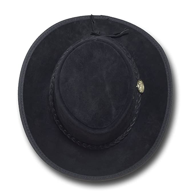 a4725ea43f39aa Barmah Hats Foldaway Suede Leather Hat - Item 1066 at Amazon Men's Clothing  store: Cowboy Hats