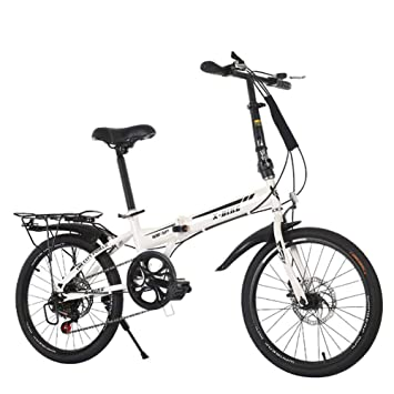 Bicicleta plegable para mujer