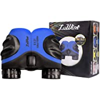 Luwint 8 X 21 Blue Kids Binoculars For Bird Watching, Watching Wildlife Or Scenery, Game, Mini Compact And Image Stabilized Small, Mini Blue