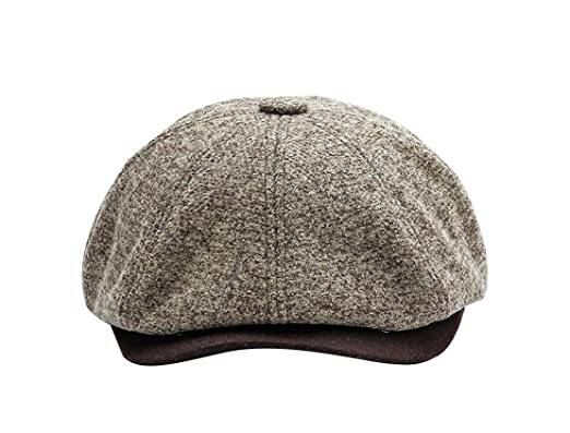 0f54efce5ec1 ACVIP Mens Women 8 Panel Newsboy Ivy Cap Baker Boy Hat: Amazon.co.uk:  Clothing