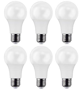 repsn 3 paquetes de alta calidad bombilla LED A60 E27 7 W 638lm 2700 K suave ...