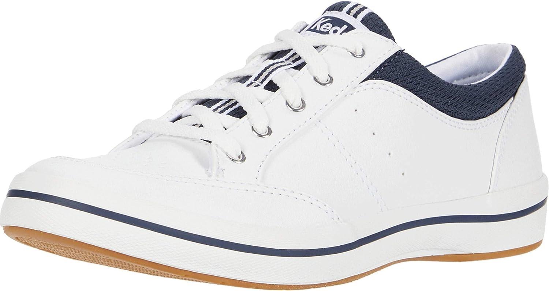 Rebellion Fashion Sneaker, White/Navy
