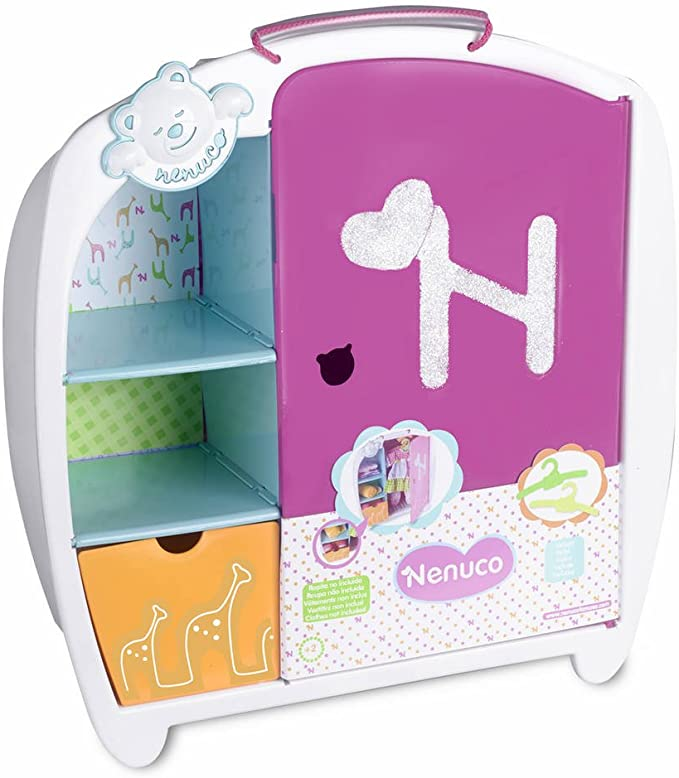 Amazon.es: Nenuco Armario de juguete (Famosa 700010346): Juguetes ...