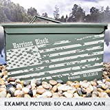 Personalized American Flag Ammo box for Groomsman, Groom or Best Man