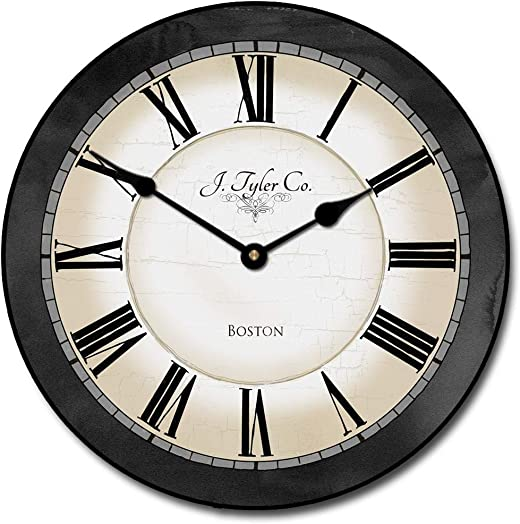 Carolina Gray Wall Clock