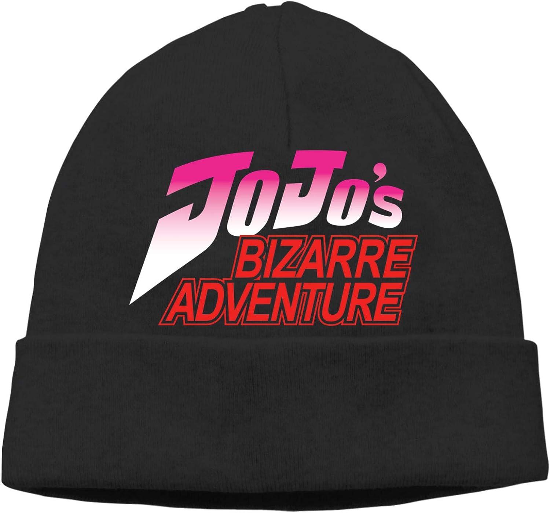 Gorro de Punto Sombreros de Punto Unisex Beanie Hat Gorro de Calavera Estiramiento Gorro de Cobertura de Invierno cálido Jojos Biz-Arre Adventure