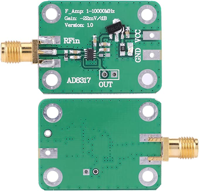 Ad8317 Logarithmischer Detektor Funkfrequenz Leistungsmesser 1m 10000mhz Baumarkt