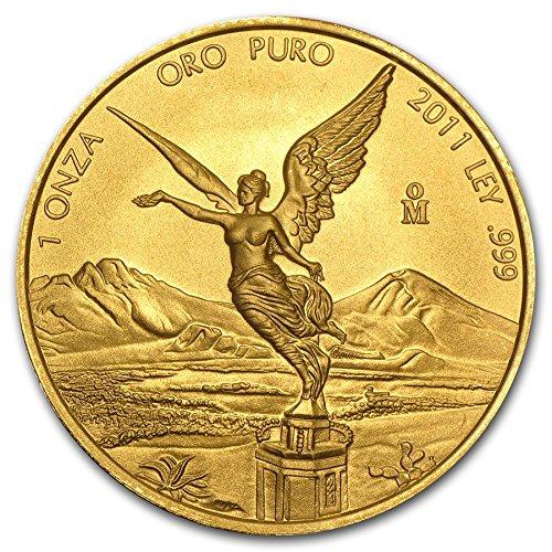 MX 2011 Mexico Libertad Gold Brilliant Uncirculated