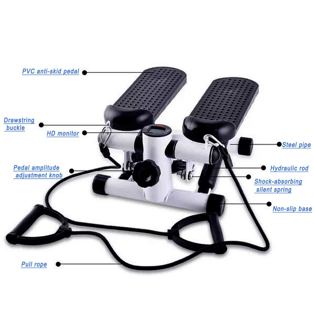 Lebeauty Household Stepper Household Hydraulic Mute Stepper Multi-Function Pedal Indoor Sports Stepper by Lebeauty (Image #3)