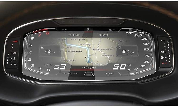 Oiobombg Für Seat Cupra Ateca Leon Tarraco Arona Ruiya Auto Displayschutzfolie Lcd Instrumententafel Bildschirm Autoinnenaufkleber Zubehör Sport Freizeit