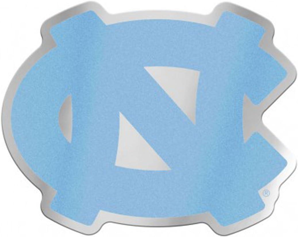 3.25 x 4.25 inches Hard Acrylic WinCraft University of North Carolina UNC Tar Heels Auto Emblem