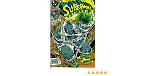 Amazon.com: Superman The Man of Steel #18 : Doomsday Part 1 ...