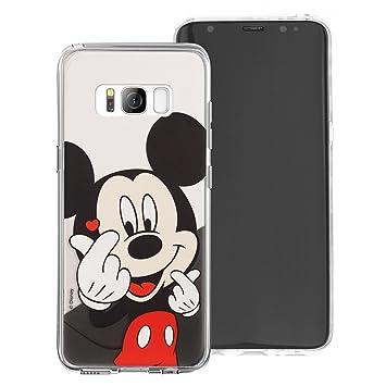Carcasa para Galaxy S8, diseño de Disney de Jelly Suave para [Galaxy S8 (